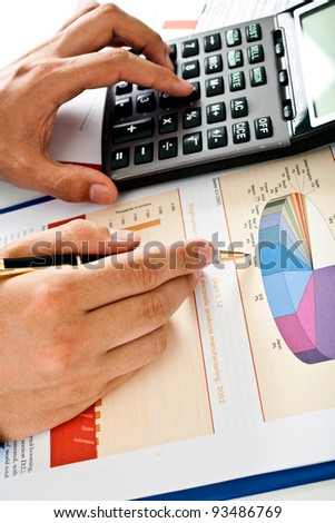 Examination of a stock market report