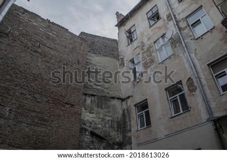 Exampels of arhitecture of Lviv Imagine de stoc ©