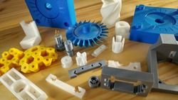 example of 3D printing mechanical components