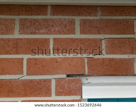 Examples of cracked foundations and sidewalks or driveways in need of foundation or driveway concrete repair #1523692646