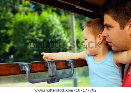 exciting family adventure by train