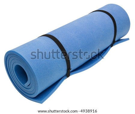 Exercise Mat - isolated on white