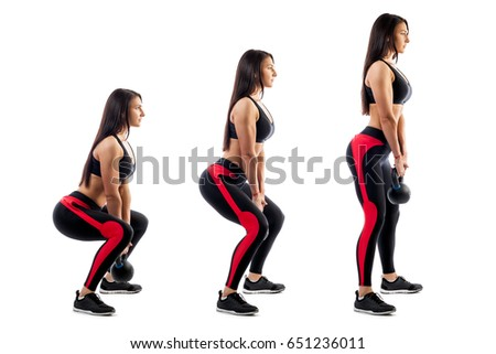 Free Photos Sport Women With Muscles In Form Avopix