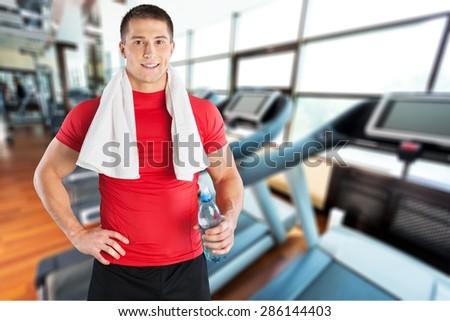 Exercising, Men, Sport.