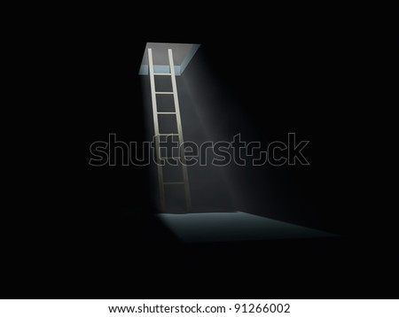 Exit from dark room