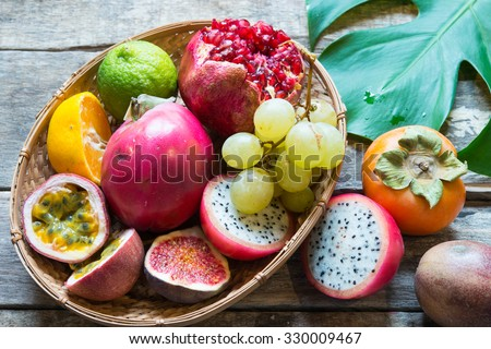 Exotic fruits #330009467