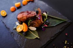 exotic restaurant gourmet food concept. thailand traditional cuisine. delicious delicacy.