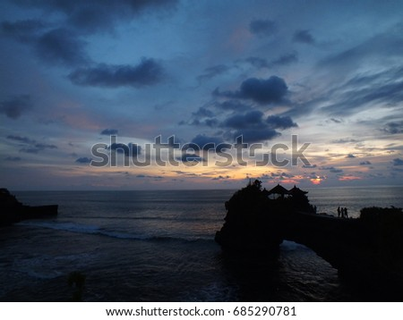 exotic sunset #685290781