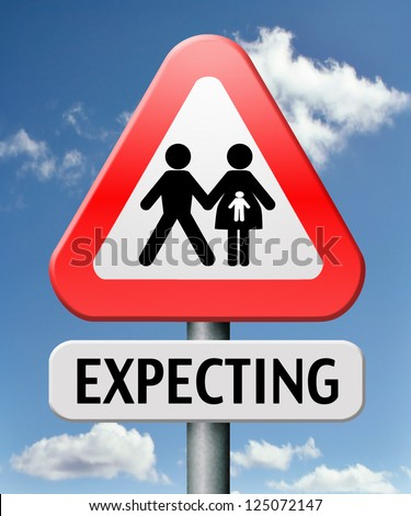 expecting baby doing a pregnancy test for an unborn child having babies