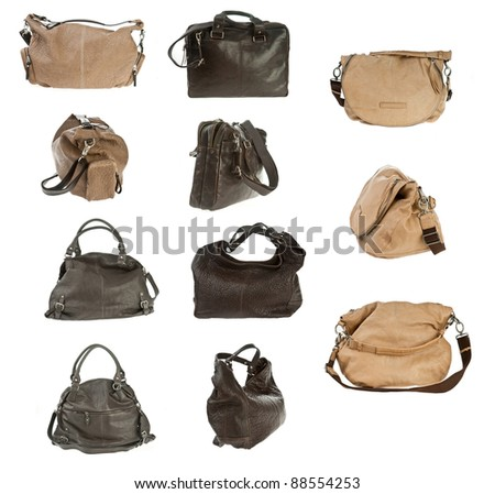 expensive luxury design woman purse collection