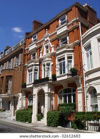 Expensive mayfair house, london