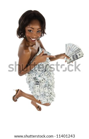 Expensive woman concept, for financial, banking, business situations, well this is personal banking