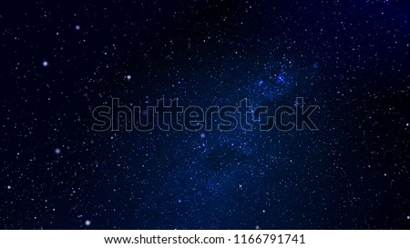 Exploration of Universe. Infinite Universe. Space background. 3D illustration