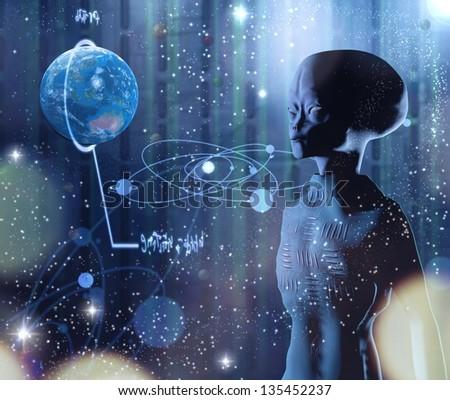 explores the alien planet Earth