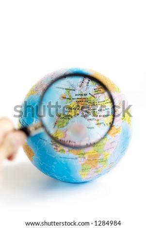 Exploring Europe through magnifying glasses