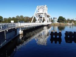 Exploring famous World War II sites, Pegasus Bridge