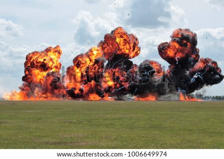 Explosion fire ball #1006649974