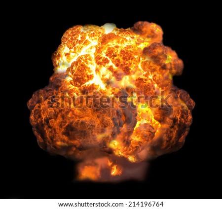 explosion in dark #214196764