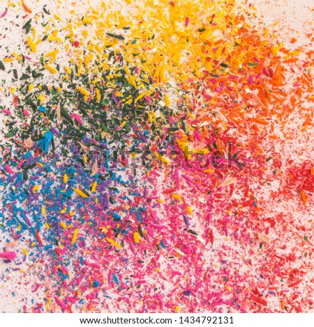 Explosion of colors by colored pencils #1434792131