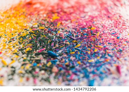 Explosion of colors by colored pencils #1434792206
