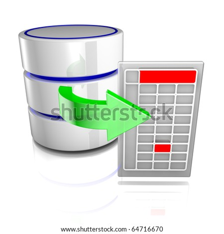 Export data from a database