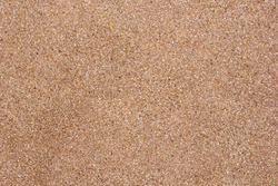 Exposed aggregate finish.