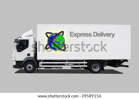 Express delivery car