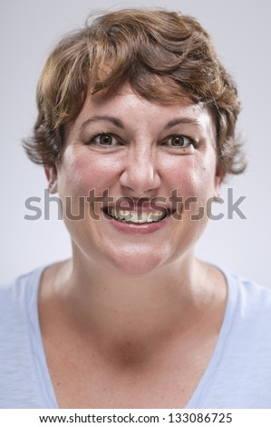 Expressions/ Happy Smiling Woman