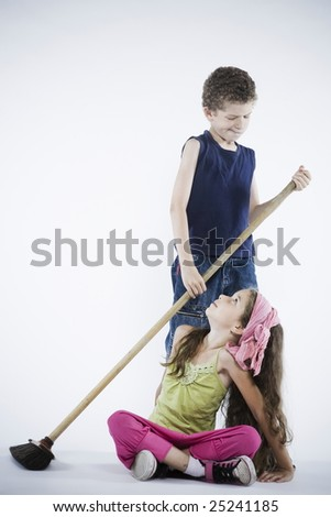 Expressive Kid - stock photo