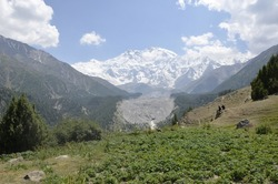 Exquisite Nanga Parbat view from Fairy Meadows valley! Trip 2020!