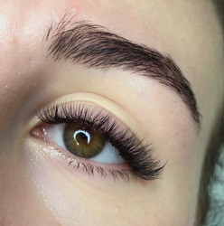 Extension eye lashes volume 2d