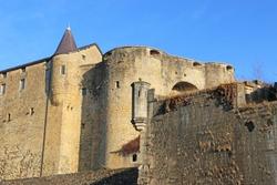 Exterior of Sedan Castle, France