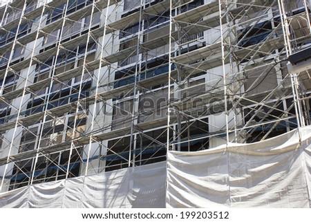 Exterior Work Of Building