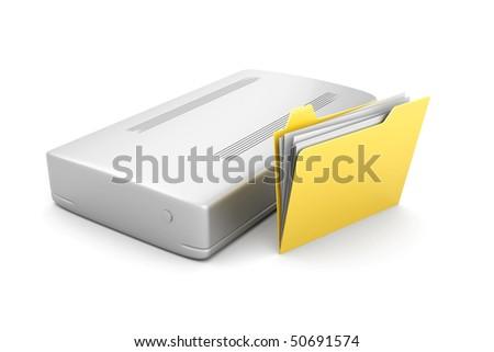 External Harddrive Folder
