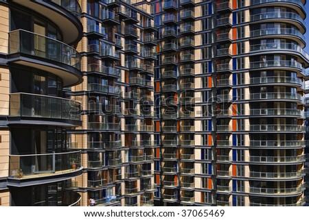 external shot of a high rise residential building