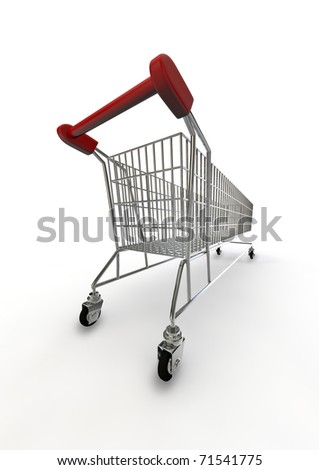 extra large shopping trolley