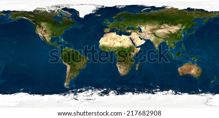 Extra large size physical world map illustration. Primary source and elements of this image furnished by NASA. This image has been created from 90 smaller images, merged in to one huge picture.
