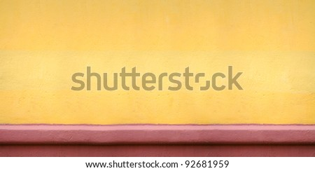 Extra-Wide Concrete Wall Background
