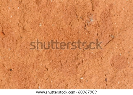 extreme macro of single brick texture with rough surface