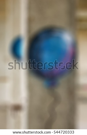 Extreme sports ropejumping theme creative abstract blur background with bokeh effect #544720333