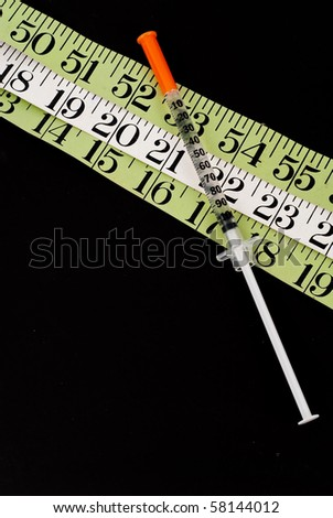 Extreme Weight Loss Concept - stock photo