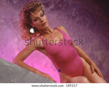 stock photo extremely fit mature woman in a pink bathing suit 189257 Webcam Strip tease. Written by Brad on. Posted in Girl 081   Lena, ...