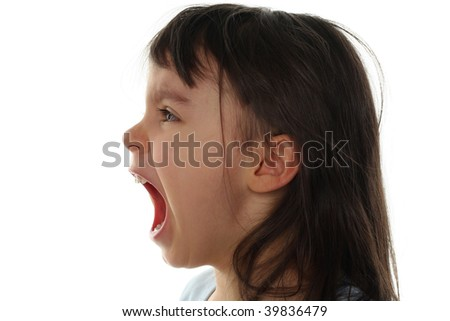 Scared Face Clipart