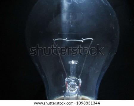 Eye in a bulb #1098831344