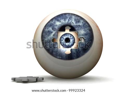eye in a eye