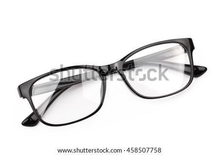 3e9c66166826 eyeglasses isolated on white background