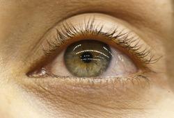 Eyes reflection