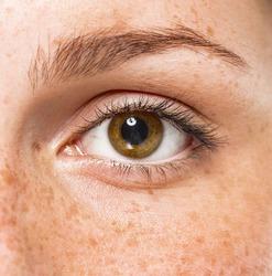 eyes woman studio