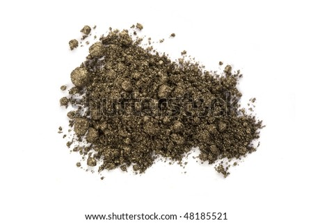 eyeshadow shimer crumbly pigment dust