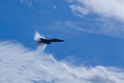 F-18/A Hornet supersonic